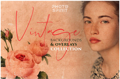 Vintage Backgrounds & Overlays