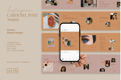 Natural Cosmetic Carousel Instagram