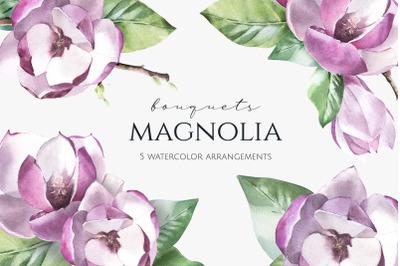 Pink Magnolia Arrangements