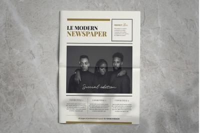 Newspaper Magazine Template