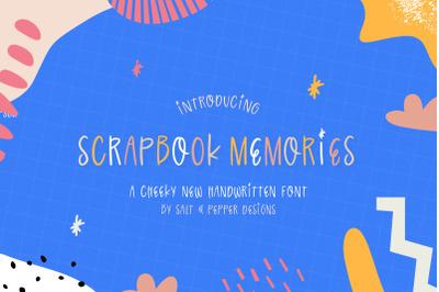 Scrapbook Memories Fonts (Craft Fonts, Handwritten Fonts, Fun Fonts)