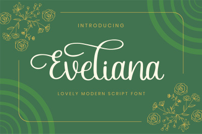Eveliana - A Lovely Script Font
