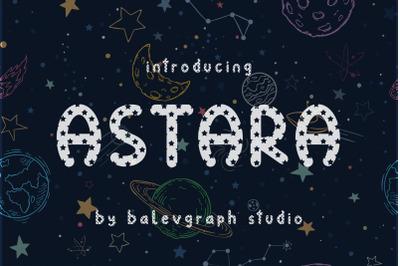 Astara Typeface