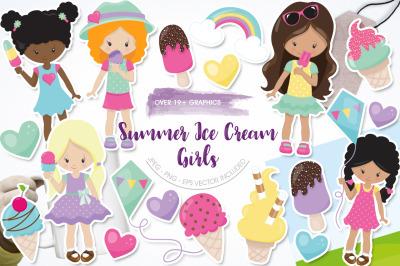 Summer Ice Cream Girls