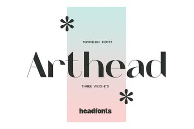 Arthead Modern Sans Serif