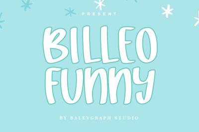 Billeo Funny Typeface