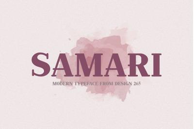 Samari - Modern Serif Font