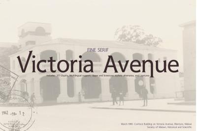 Victoria Avenue & Extras
