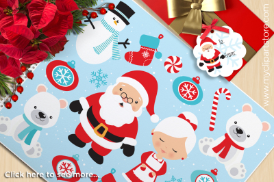 Christmas - North Pole Vector Clipart