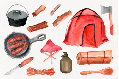 Travel clipart. Camping PNG