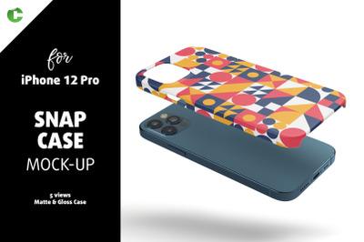 Phone 12 Pro Snap Case Mock-up