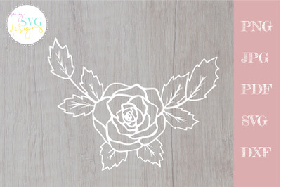 Rose svg, Flower svg files, Floral bouquet svg
