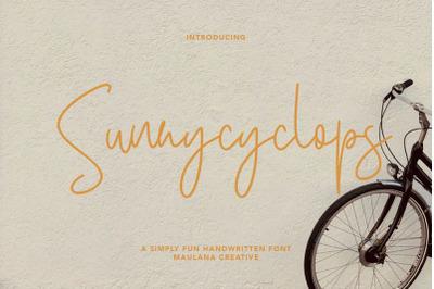 Sunnycyclops Simply Fun Handwritten Font