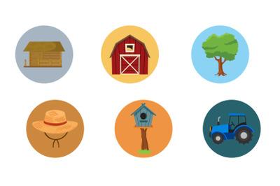 Rural hat fill Bundle Icon