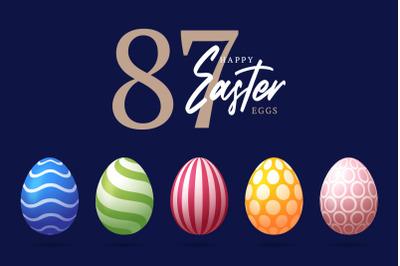 87 Easter ornament eggs