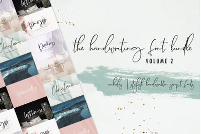 The Chic Handwriting Bundle Vol. 2