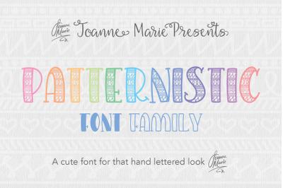 Patternistic Easter Font