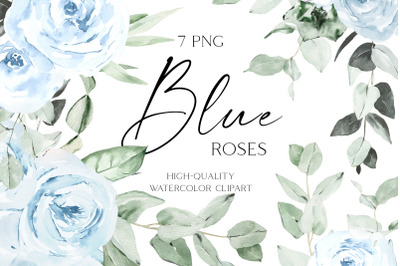 Boho roses bouquets clipart, Watercolor floral borders png wedding