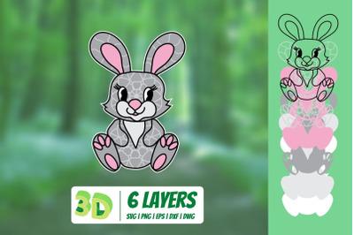 3D Bunny SVG