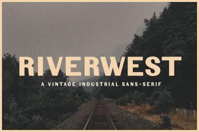 Riverwest   Vintage Industrial Sans