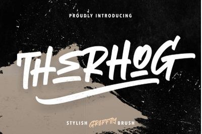 Therhog Graffiti Brush