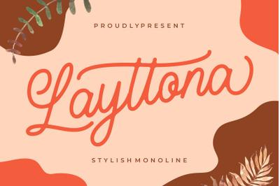 Layttona Stylish Monoline