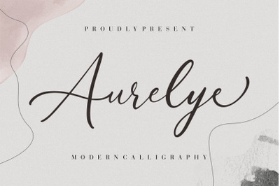 Aurelye Modern Calligraphy