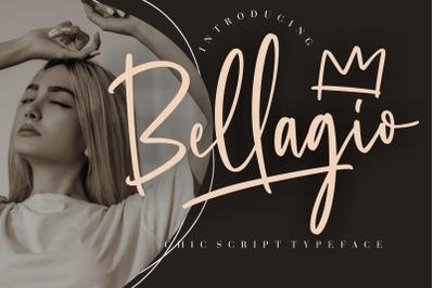 Bellagio Chic Script Typeface