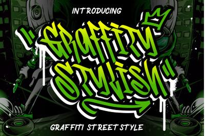 Graffity Stylish Graffiti Street Style