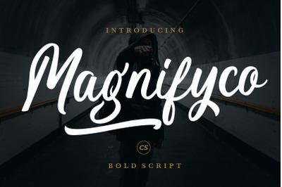 Magnifyco Bold Script