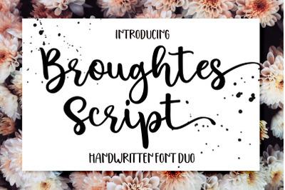 Broughtes script