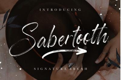 Sabertooth Signature Brush