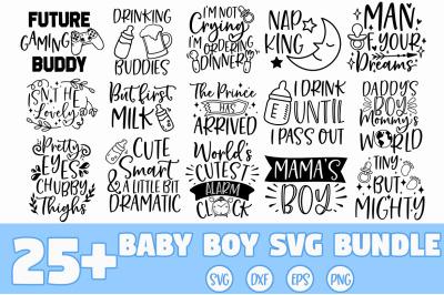 Baby Boy SVG Bundle