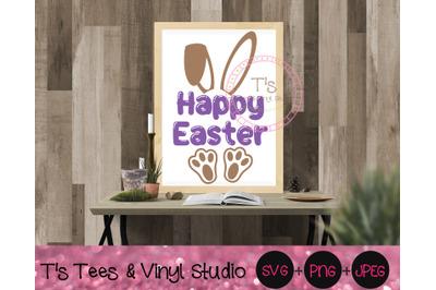 Happy Easter SVG, Easter Bunny, Rabbit, Easter Blessings, Jelly Beans,