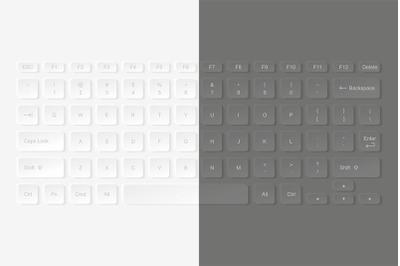Laptop keyboard computer