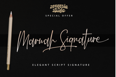 Marwah Signatre