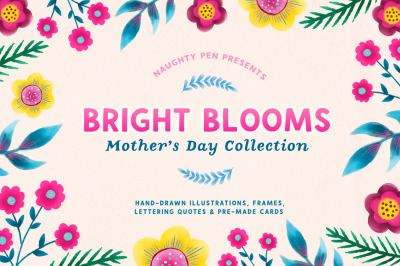 Bright Blooms Mothers Day Collection