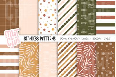 Boho Seamless Patterns