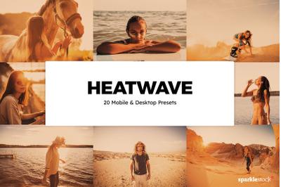 20 Heatwave Lightroom Presets & LUTs