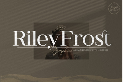 Riley Frost - Casual Serif Font