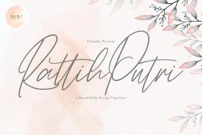 Rattih Putri - Handwritten Font
