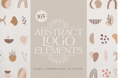 Abstract logo elements & frames