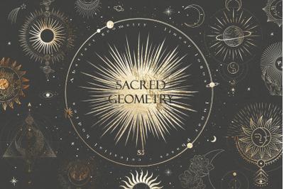 Sacred geometry. 83 illustrations