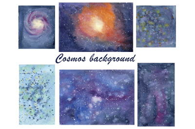 Digital Background printable, Little space, Abstract background