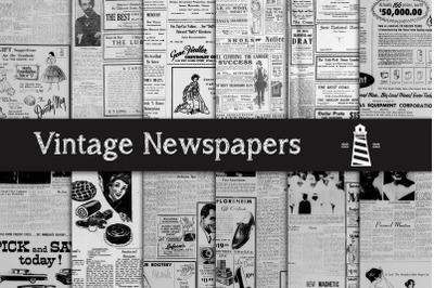 Antique Newspaper Advertising