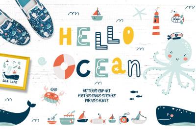 Hello Ocean set
