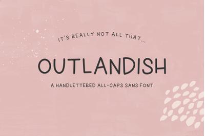 Outlandish Sans