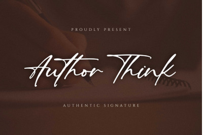 Author Think