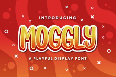 Moggly - A Cute Quirky Font