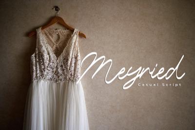 Meyried - Script Font